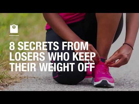 8 secrets from losers who keep their weight off
