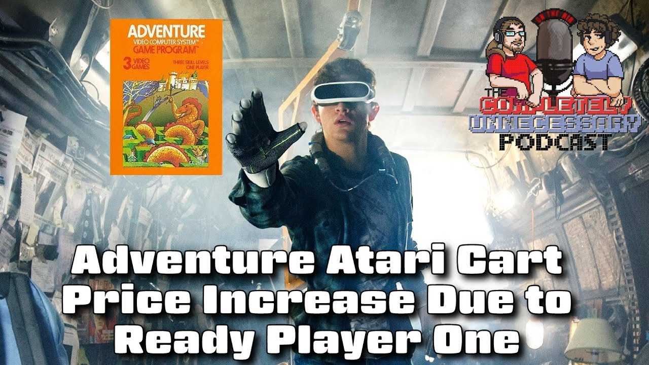 Ready Player One Causes Price Increase for Adventure Atari Cart - #CUPodcast