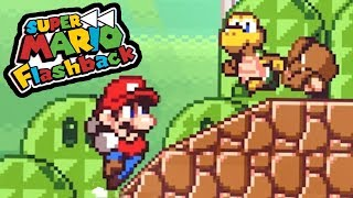 THE GREATEST MARIO FAN GAME EVER?! - Super Mario Flashback Gameplay (DEMO)