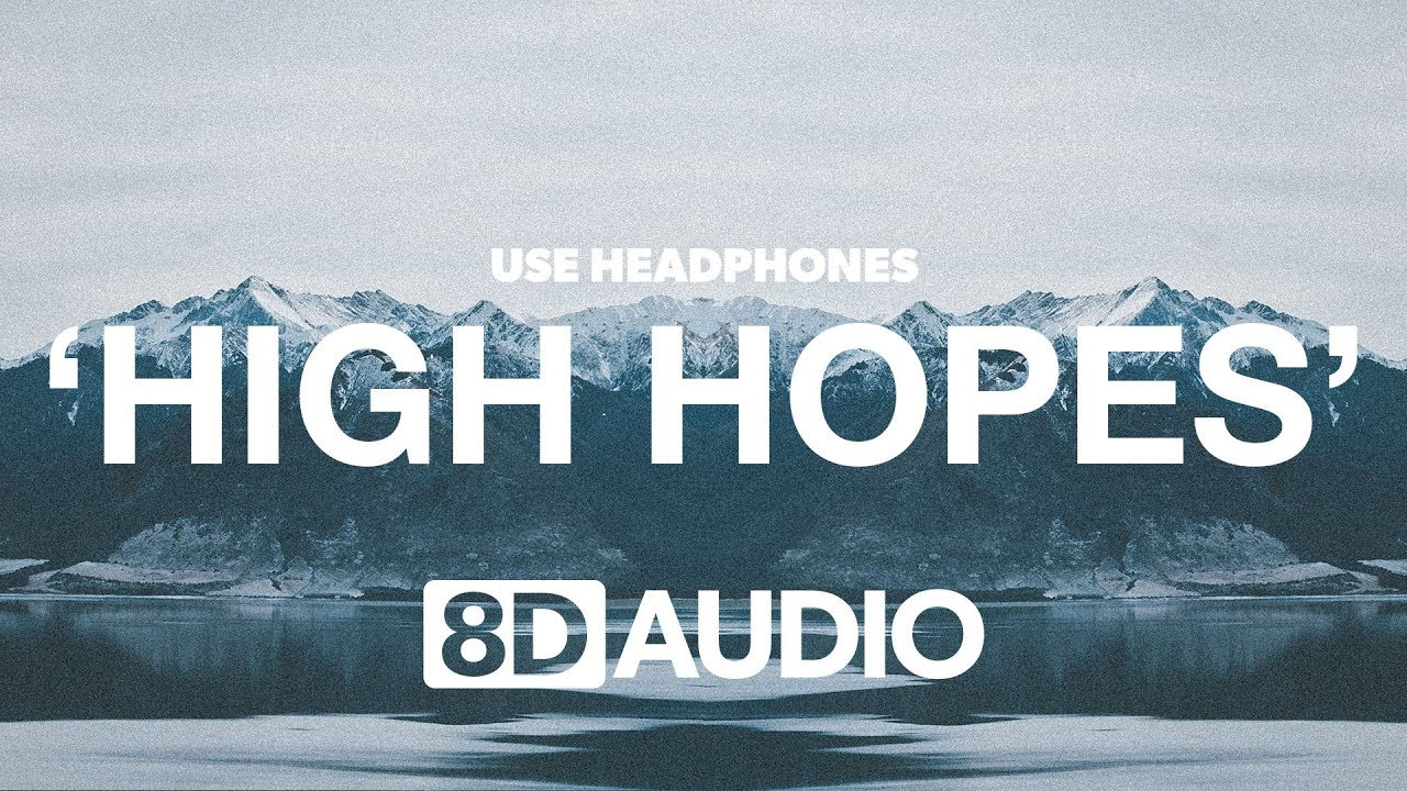 Panic! At The Disco - High Hopes (8D Audio) 🎧 image