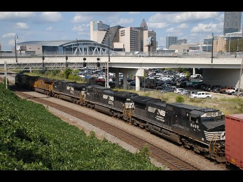 The Atlanta Terminal 9/11/16: Pacing, KCS Military Train, GP33ECO/Slug Set and rolling meets