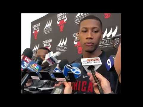 Kris Dunn Back at Bulls Practice, With all of his Teeth!