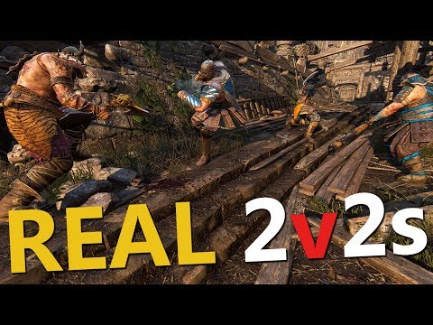 REAL 2v2 BRAWLS - For Honor + 3 DLC Codes Giveaway!