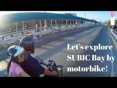 Exploring Subic Bay Freeport by Motorbike