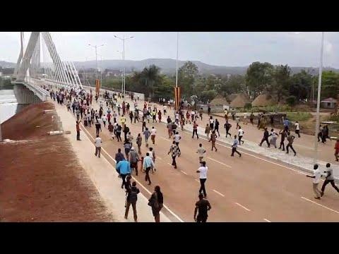 Ouganda : Un Nouveau Pont à Haubans Inauguré Dans La Ville Jinja