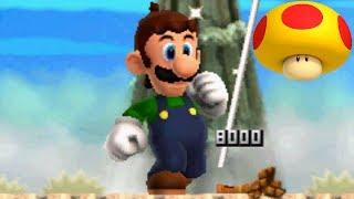 New Super Mario Bros 2 - All Mega Mushrooms