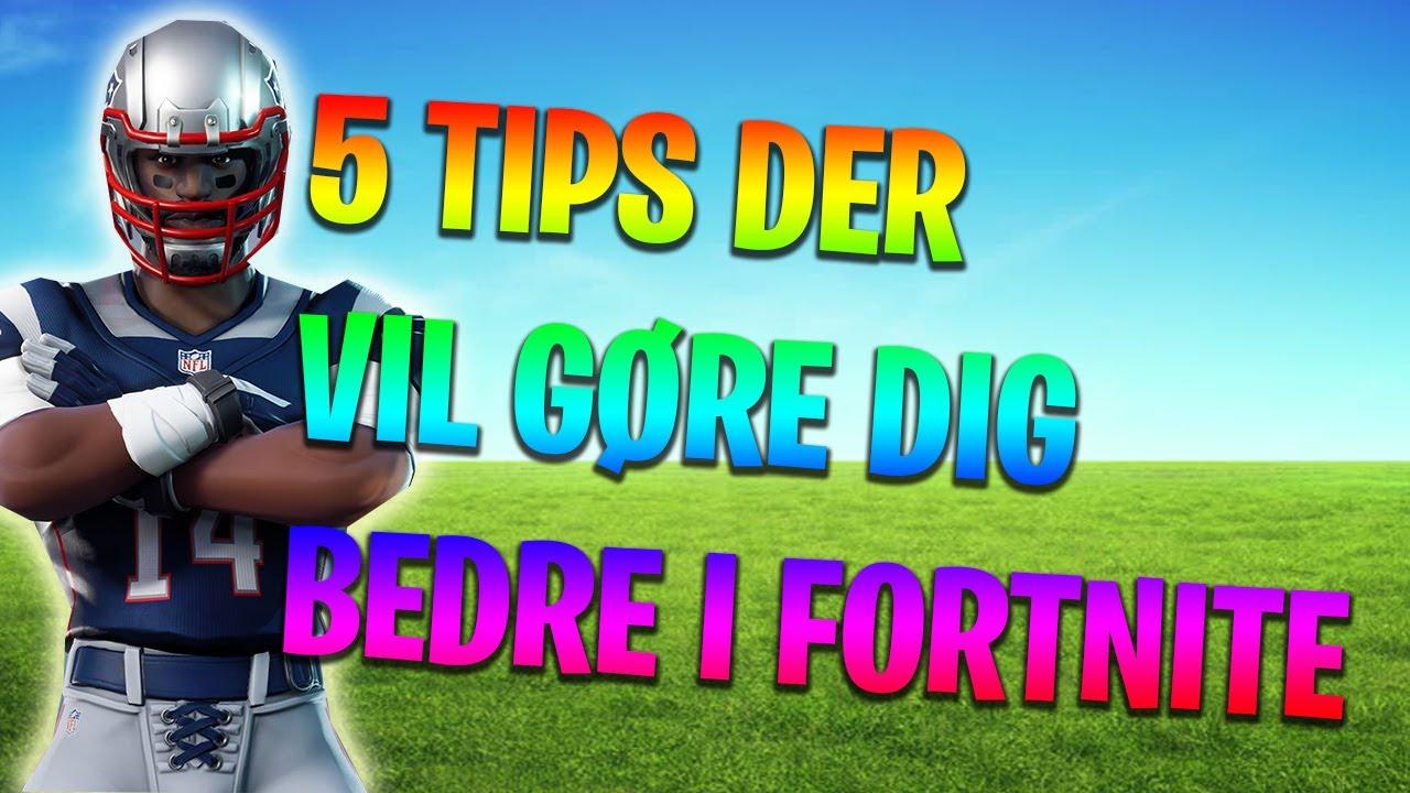 TOP 5 PRO TIPS I FORTNITE!
