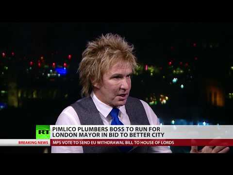 Pimlico Plumbers founder wants to run for London mayor
