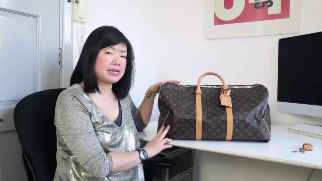 Quick review of the Louis Vuitton Keepall 50