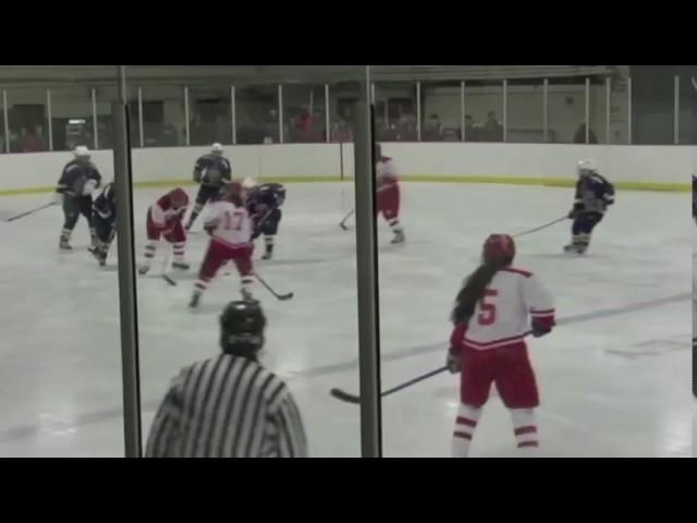 Acton Boxborough Varsity Girls Hockey vs Waltham Dec 2011