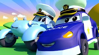 малыши в Автомобильном Городе - Играем в Попробуй отбери - детский мультфильм