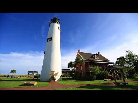 Florida Travel: Full Moon Climb at the Cape St. George Light