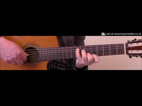 Don't Panic - Coldplay FREE TAB fingerstyle guitar