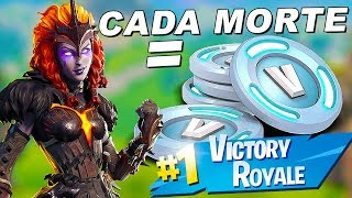 Fortnite-EVERY DEATH = VBUCKS!! DRAW V-BUCKS CHALLENGE * FLOOR IS LAVA * NEW GAME MODE!! Soils