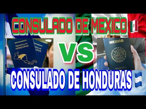 CONSULADO DE MEXICO 🇲🇽 VS CONSULADO DE HONDURAS 🇭🇳