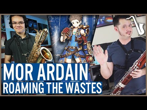 Xenoblade Chronicles 2: Mor Ardain - Roaming the Wastes Jazz Arrangement || insaneintherainmusic