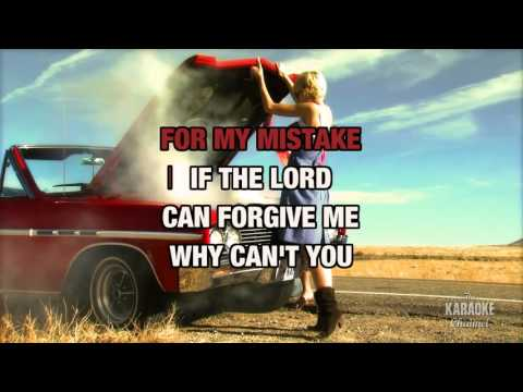 Why Can't You in the style of Larry Stewart | Karaoke with Lyrics