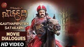 Gautamiputra Satakarni Movie Dialogues Charitra Dialogue   Balakrishna, Shriya Saran