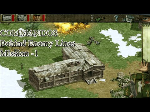 Commandos Behind Enemy Lines  Mission 1   Behind Enemy Lines part 1  