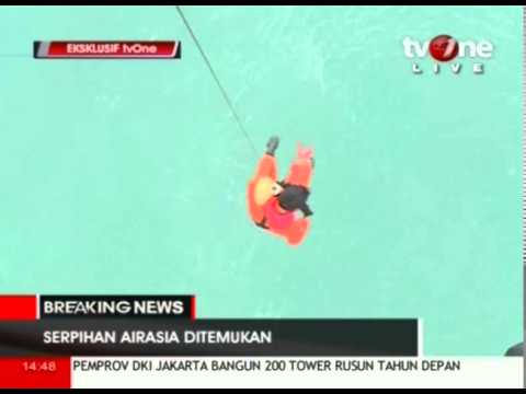 Search for AirAsia jet: Suspected bodies, debris found  TV ONE Reuters  AFP