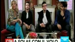 C5N - Musica: Entrevista a IL Volo en Verona (Parte 1)