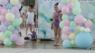 Выступление Майи Виленской по художественной гимнастике
