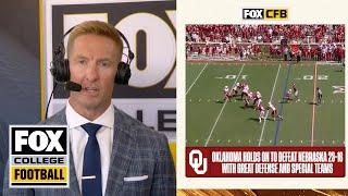 Joel Klatt likes where Nebraska is headed after a tough loss to Oklahoma   In The Booth   CFB on FOX screenshot 4