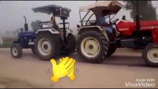Farmtrac 60 vs Swaraj 855 tractor tochan