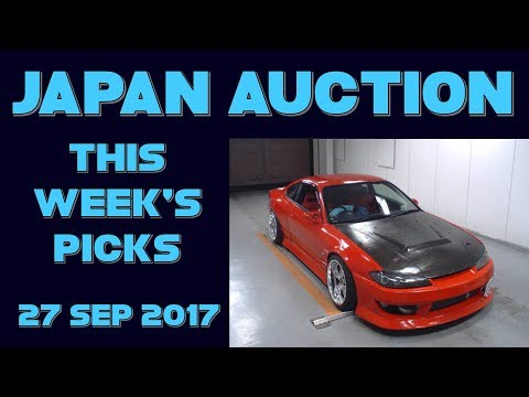 Japan Weekly Auction Picks 039 - 27 Sep 17