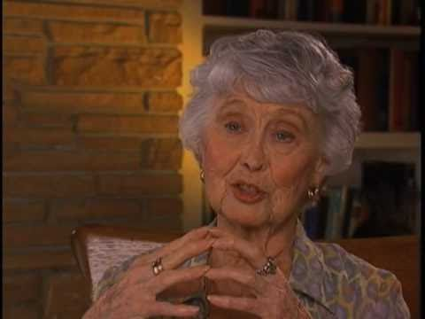 Betty Garrett discusses meeting husband Larry Parks  EMMYTVLEGENDSORG