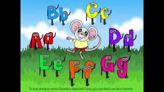 Learn the Letters A to G with Ricardo Reading Mouse - talking book