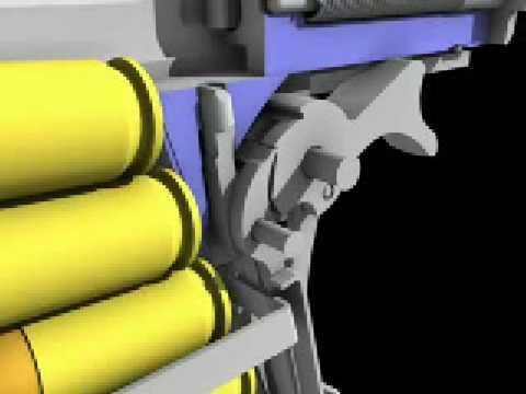 colt .45 1911 trigger mechanism - YouTube