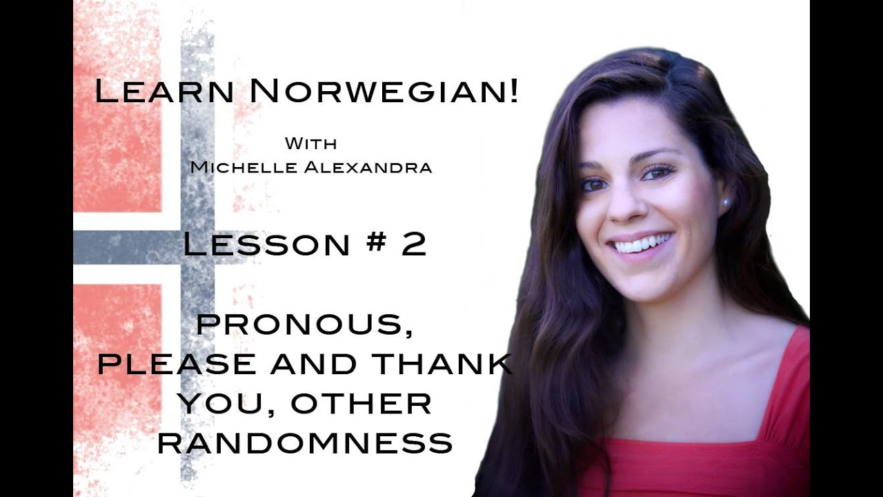 how to say please and thank you in norwegian