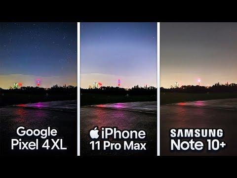Google Pixel 4 vs iPhone 11 Pro vs Samsung Note 10 Plus Camera Test Comparison!