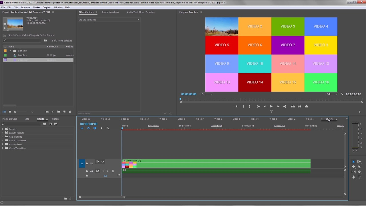 How To Work With Longer Videos In The Simple Video Wall Templates