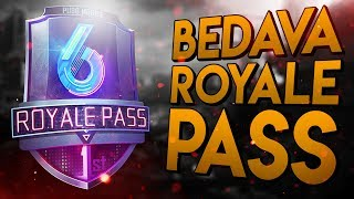 ÜCRETSİZ ROYALE PASS ALDIM !! | PUBG Mobile Royale Pass Sezon 6 (Türkçe)