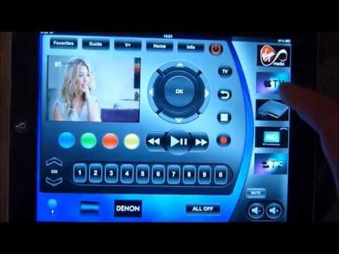 iPad Control of Home Theatre using Demopad App by Cleverhouse