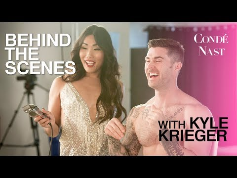 Behind the Scenes with Kyle Krieger for Conde Nast | Gia Gunn