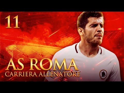 GOAL EPICO E INCREDIBILE DI ALVARO MORATA! | CARRIERA ALLENATORE AS ROMA S.2 EP.11 | FIFA 17 [ITA]