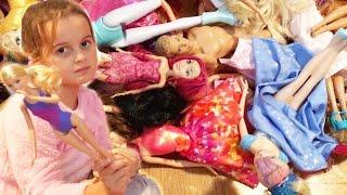 Barbie Barbie Her Yer Barbie 2. Bölüm | Nil Barbie Oyuncak Bebeklerini Düzenliyor | Evcilik TV