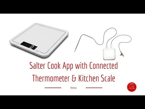 Salter Cook App With Connected Thermometer & Kitchen Scale Review