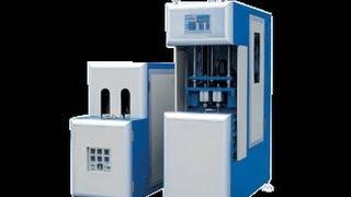 2 Cavity Semi Automatic PET Bottle Blowing Machine