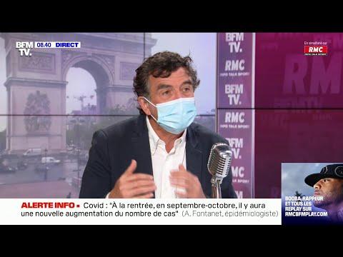 """Arnaud Fontanet: """"Il y aura une nouvelle vague de coronavirus en septembre, octobre"""""""