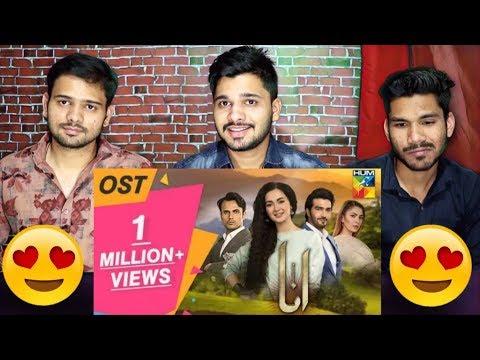Indian Reaction Anaa OST | Hum TV Drama | Hania Amir, Sahir Ali Bagga | M Bros