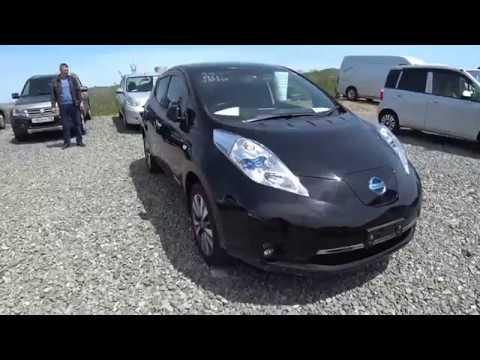 Авто будущего, электрокар, Nissan leaf