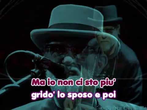 Francesco De Gregori - Alice (karaoke - fair use)