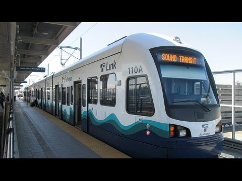Sound Transit Central Link LRT - SeaTac Airport To Seattle