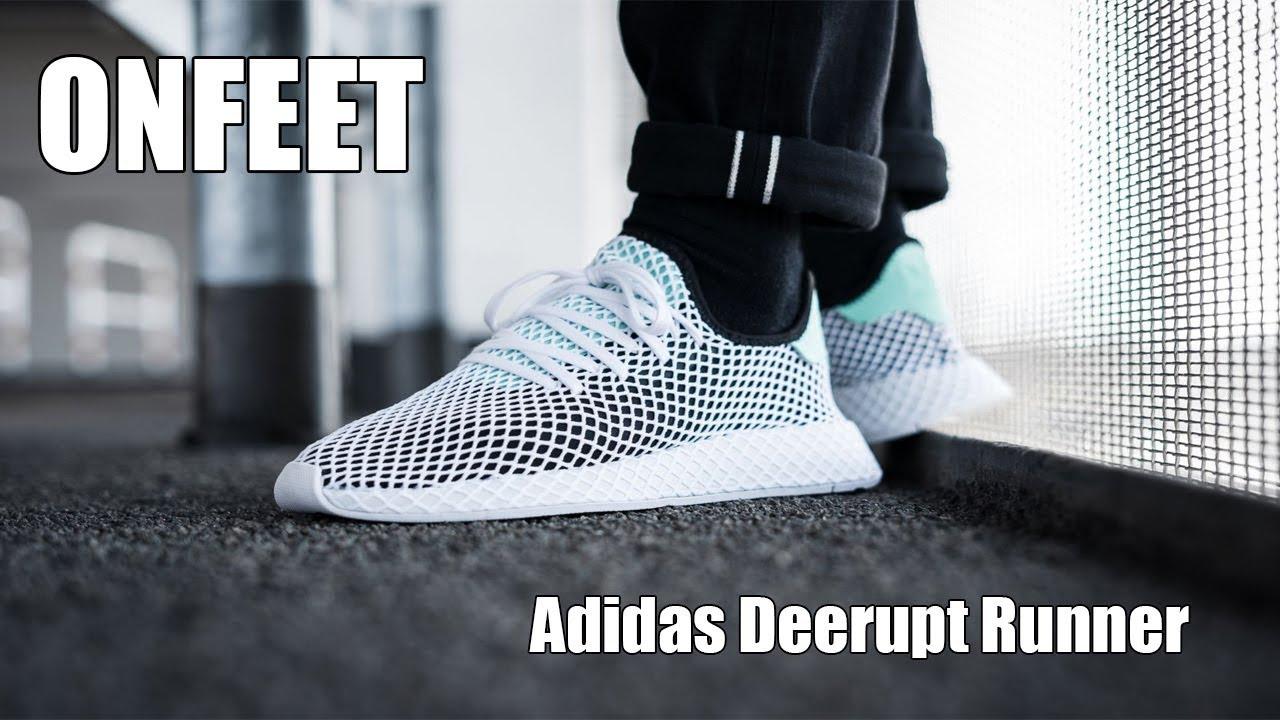 Adidas Deerupt Runner (B28076) Onfeet Review | sneakers.by