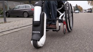Elektro Zuggerät MySlave Rollstuhl Neu 2015