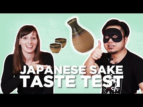 Taste Testing Japanese Alcohol (Sake) with Natsuki from Abroad in Japan